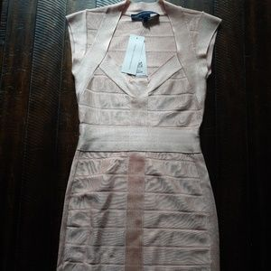 French connection bodywrap dress